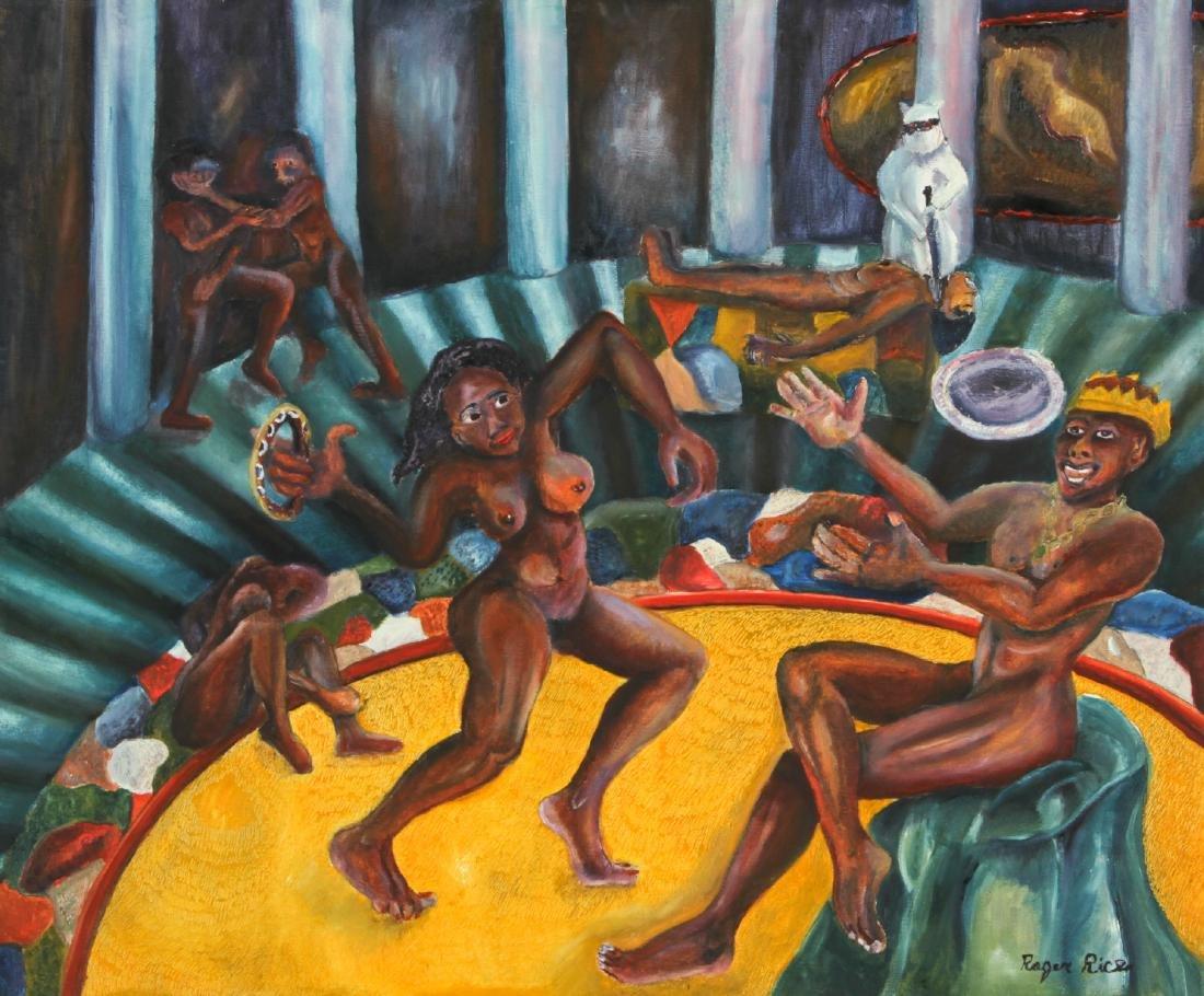 "Roger Rice (b. 1958) ""Salome Dancing"", 1991"