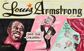 John Edward Welch NC b 1918 Louis Armstrong