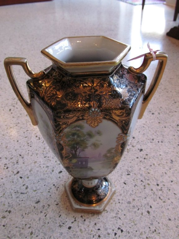 1C: Noritake Scenic Bolted Urn