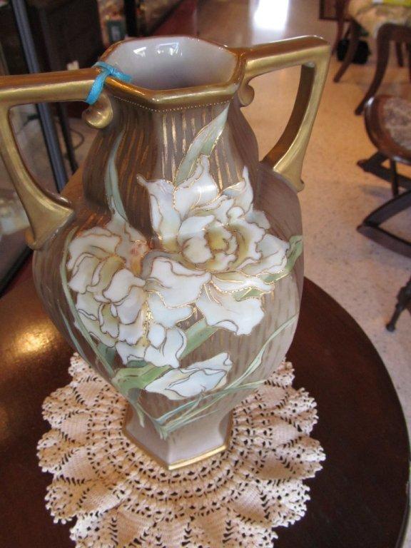 """2C: Nippon 10 1/2"""" Vase"""