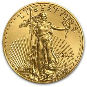2Q: 2012 1/4 oz Gold American Eagle