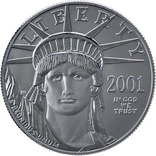 4Q: 1/10 oz Platinum American Eagle - Random