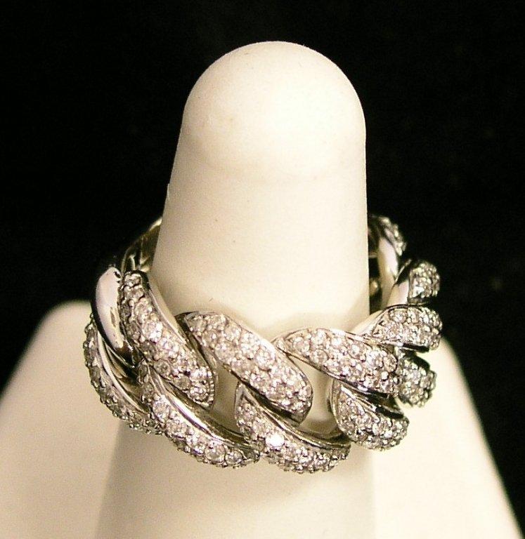 6A: Sonya B 2CTW 18KWG Ladies Ring