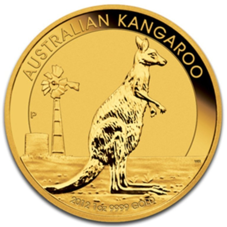 6Q: 2012 1 oz Australian Gold Kangaroo