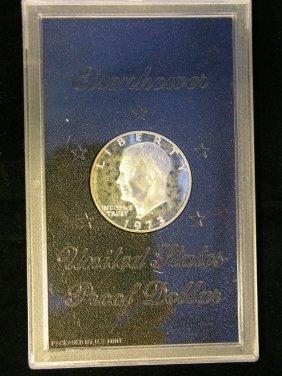 1973 Eisenhower Dollar Proof 40% Silver
