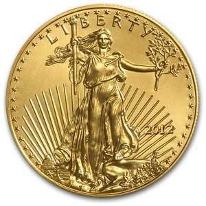 7Q: 2012 1/2 oz Gold American Eagle