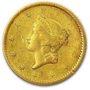 8Q: $1 Liberty Head Gold Coin - Random