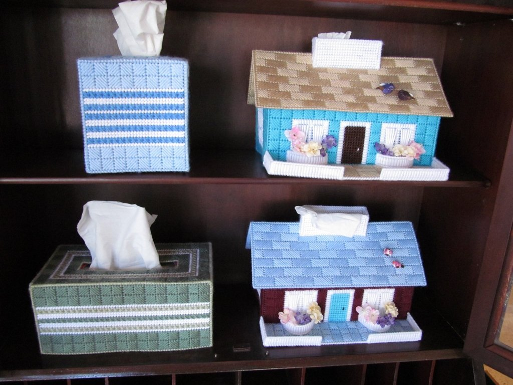 14C: Hand-Made Tissue Box Covers