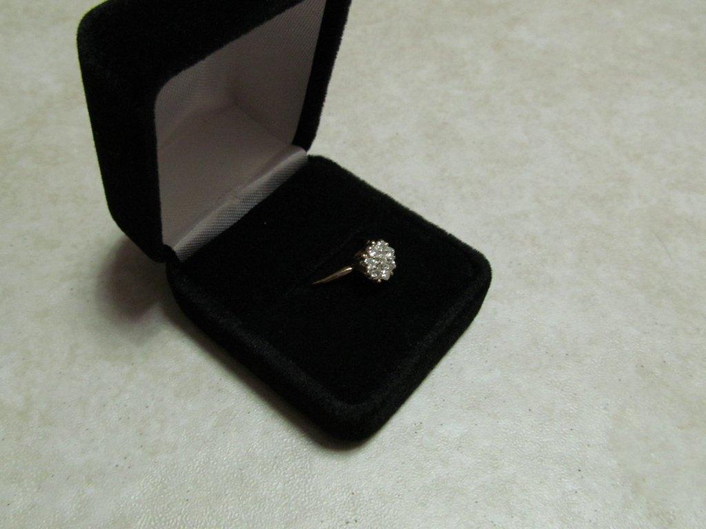 14D: Lady's Diamond Ring