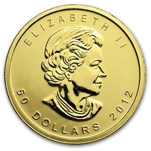 15Q: 2012 1 oz Gold Canadian Maple Leaf