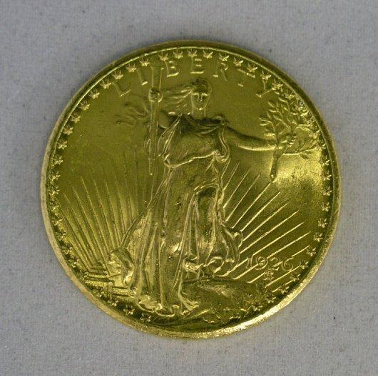 17: St. Gauden $20.00 BU 1926 - $20 Gold Double Eagle
