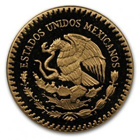 Mexico 1985 2 Coin Gold/Silver Proof Set Revolutio