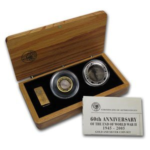 21Q: 2005 60th Anniversary of the End of WWII Gold & Si