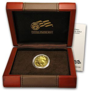 32Q: 2008-W 1/10 oz Uncirculated Gold Buffalo