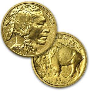 32Q: 2008-W 1/10 oz Uncirculated Gold Buffalo - 2