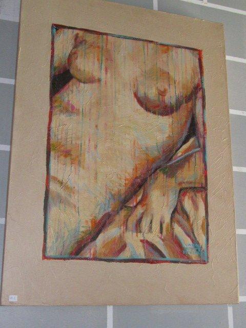 5R: Carol Korpi McKinley Female Nude 30x40