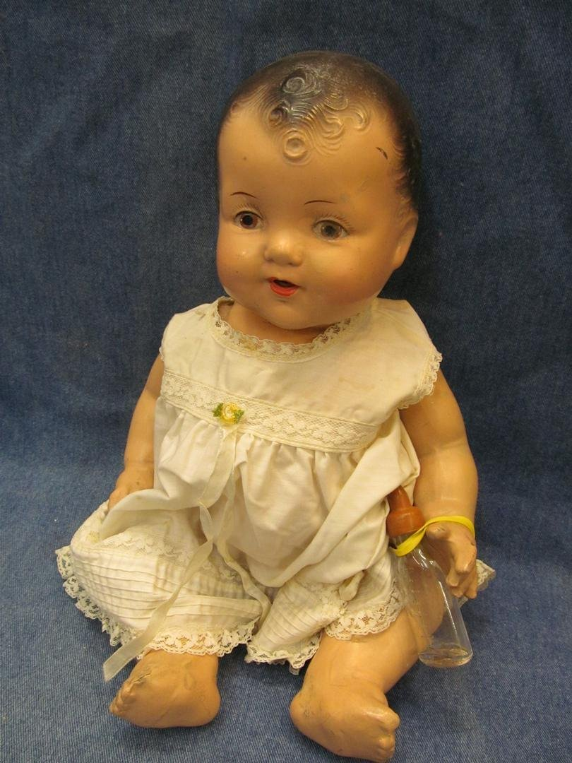 2: Antique Baby Doll with bottle