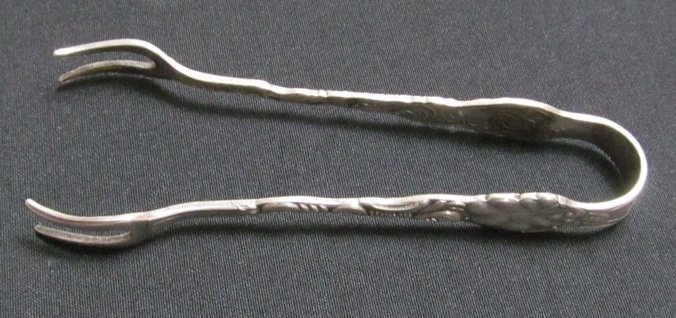 1B: Sterling Silver Tongs