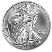 58: 2012 1 oz Silver American Eagle