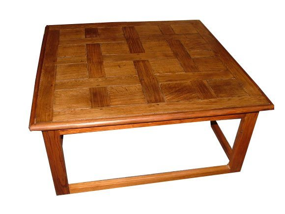 1: French Parquet Coffee Table