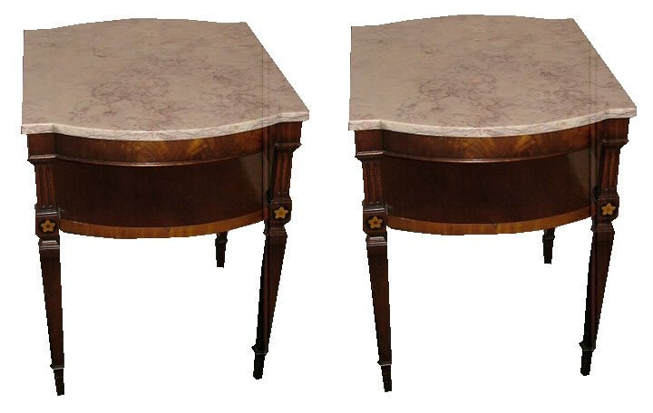 20: Pair of 20th C. Italian Side Tables