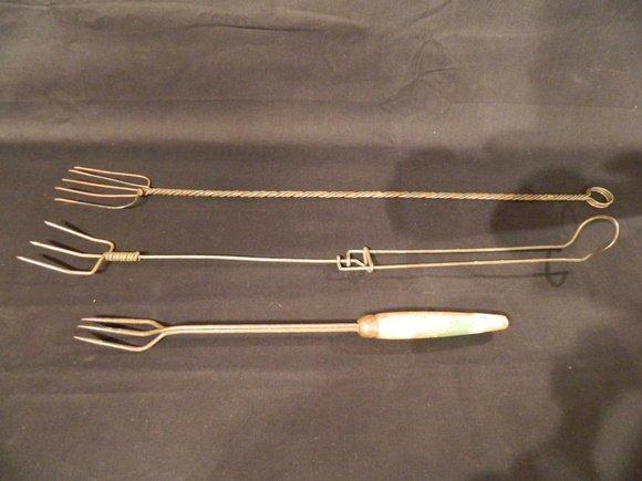 24: Group of Three Vintage Toasting Forks