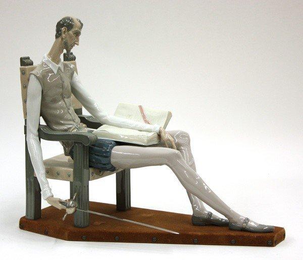 """27: A Fine Lladro Sculpture of """"Don Quixote"""""""