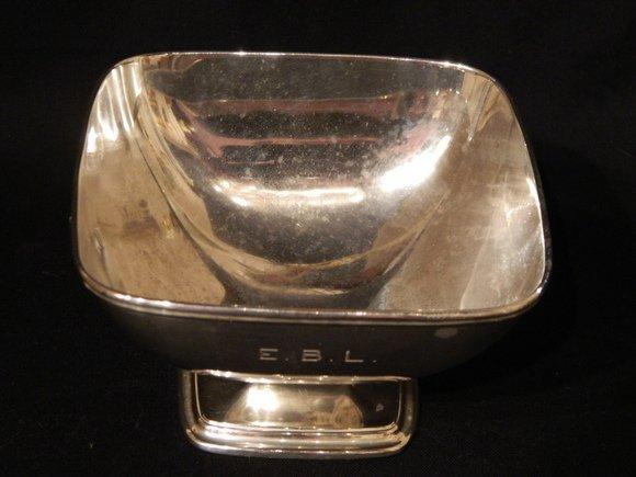 "45: Sterling Silver Waste Bowl.  Hallmark ""Shreve Crump"