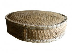 New Large Chinese Reed Grass Floor Cushion