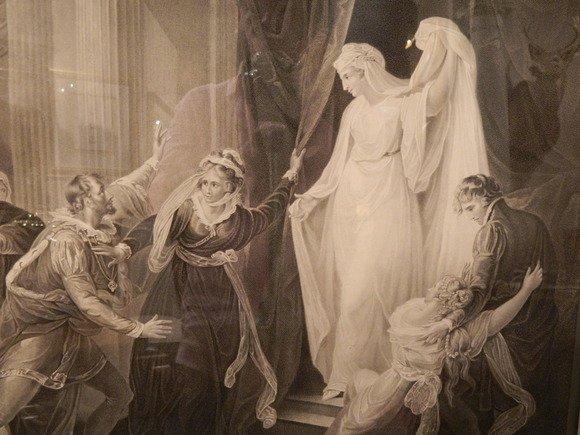 129: SHAKSPEARE Engraving, Unknown Play, Circa 1852.  N