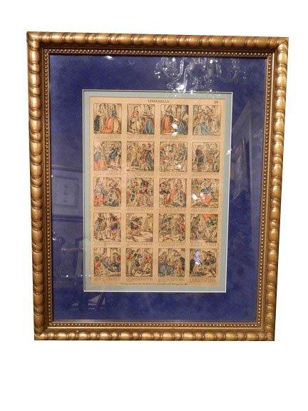 156: CINDERELLA, Circa 1880, Antique Illustrated Story