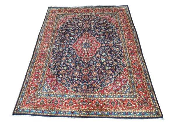 161: Persian Kashan Rug