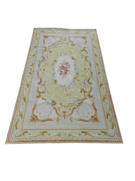 181: French Style Aubusson Floral Runner