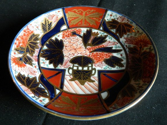 189: Japanese Gold Imari Porcelain Small Plate