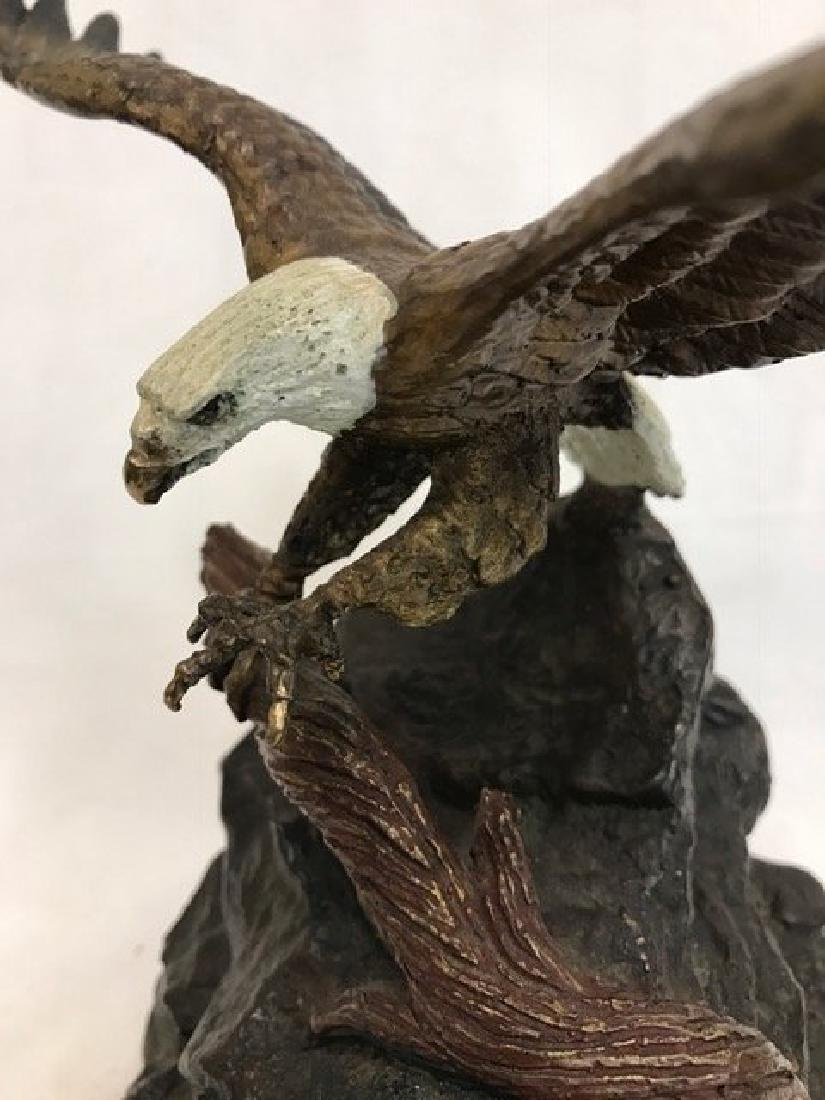Bronze Statue of Eagle by Mark Thesken