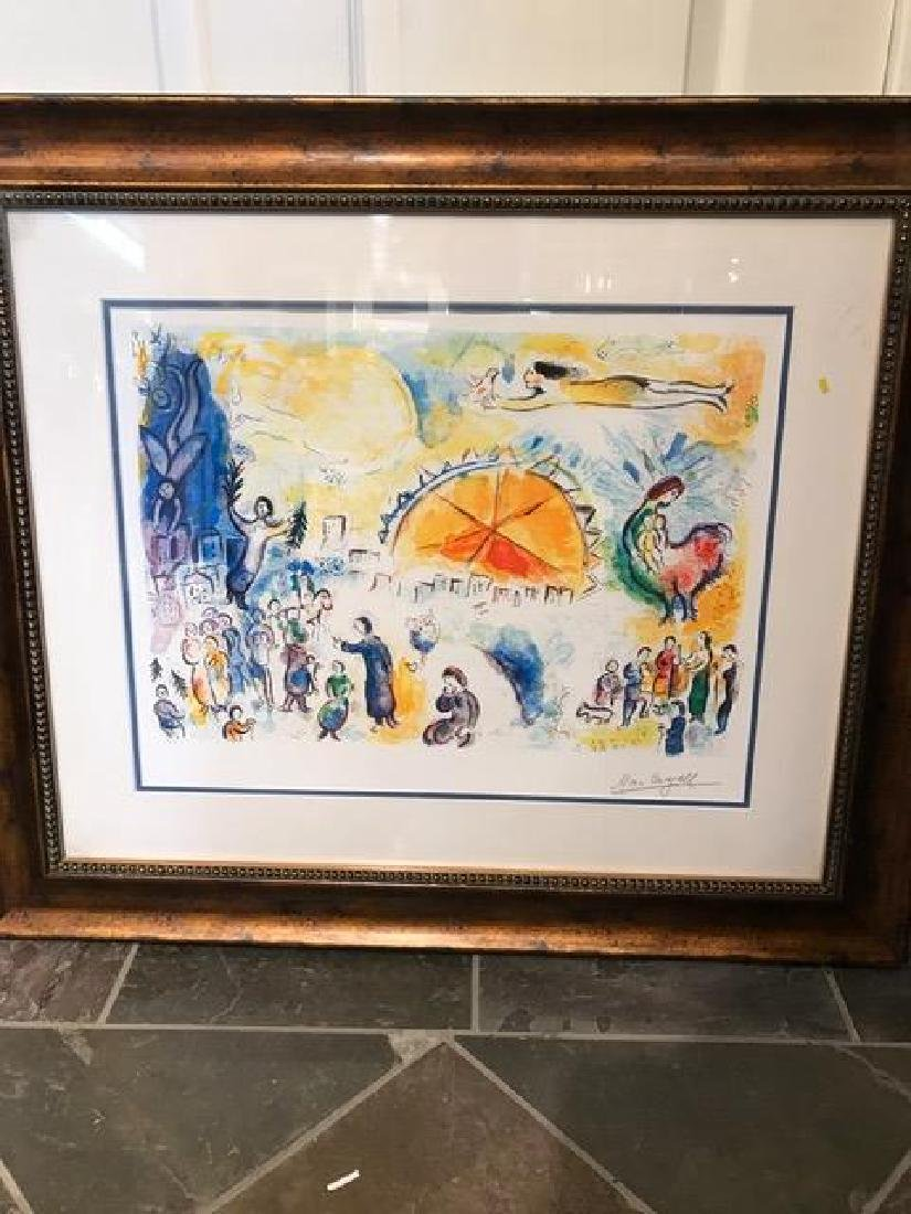 """Four Seasons Limited Edition Print by Marc Chagall"