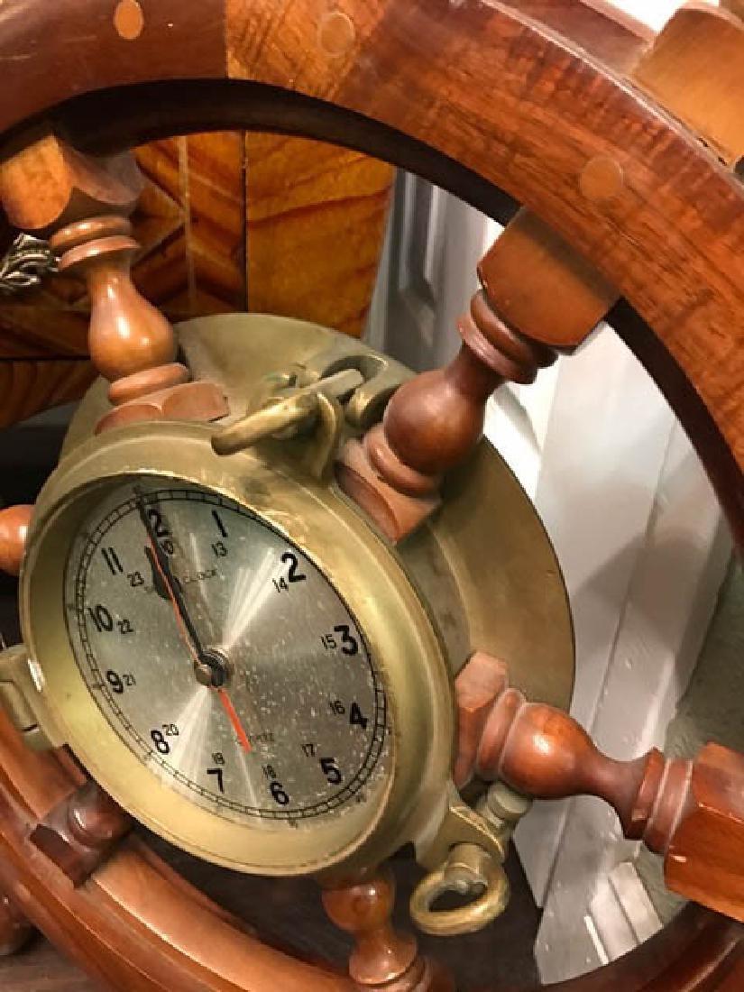 Maritime Wheel Clock - 2