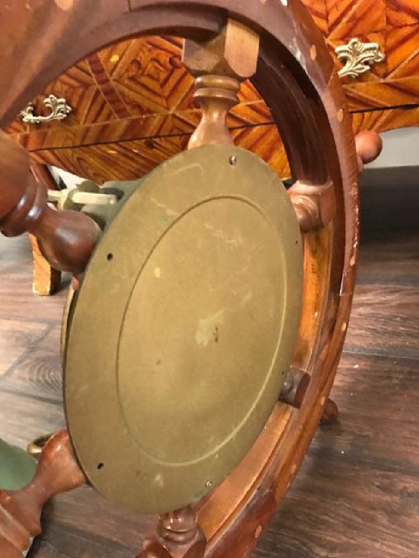 Maritime Wheel Clock - 3