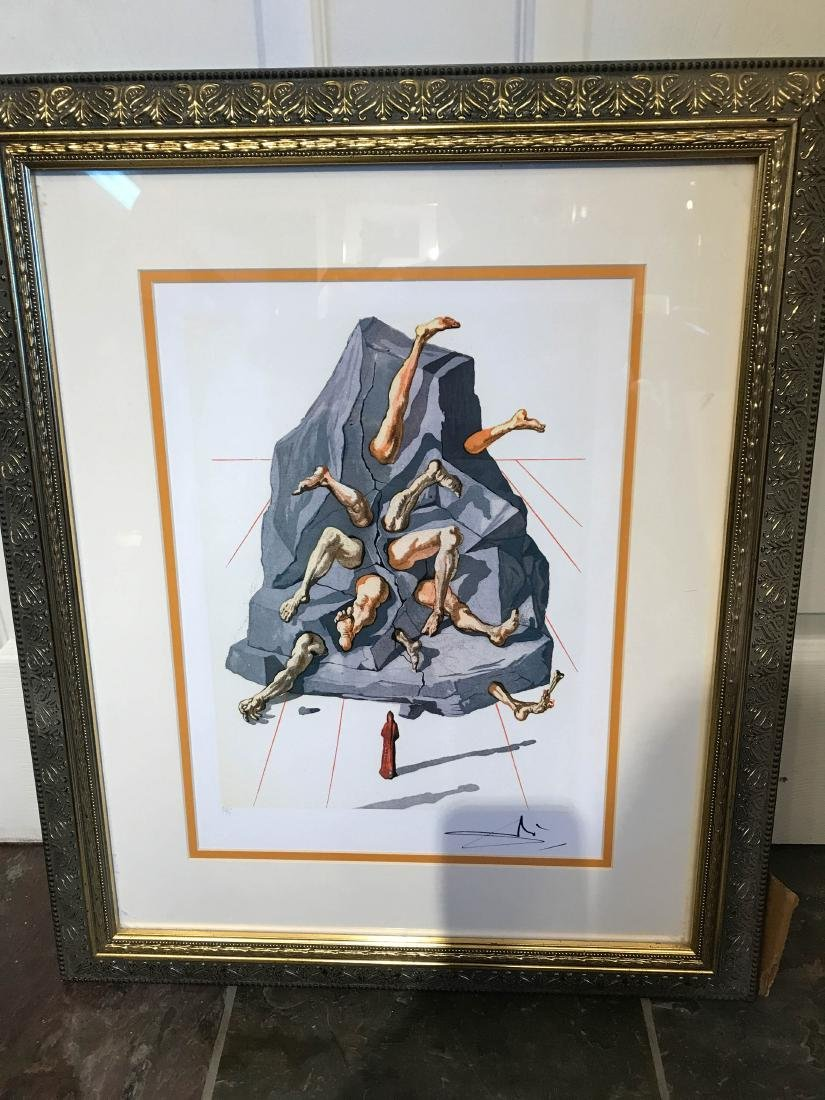 """The Simonists"" Limited Edition Print by Salvador Dali"