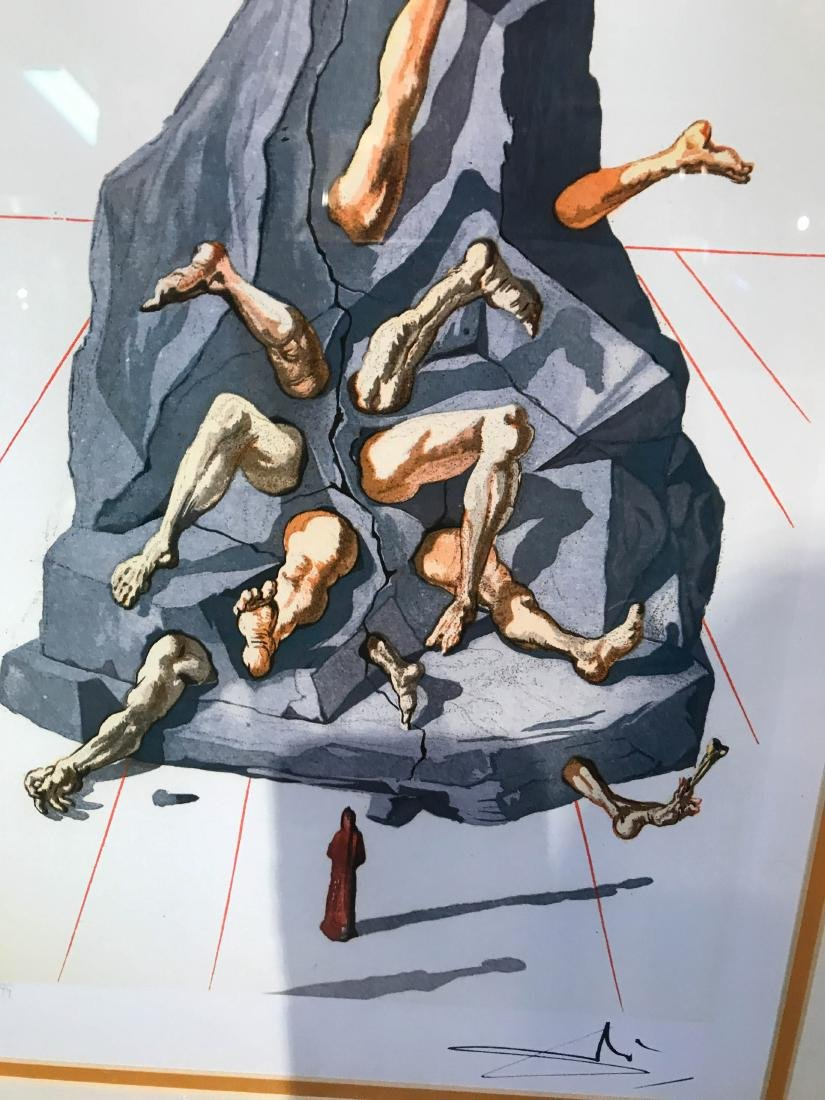"""The Simonists"" Limited Edition Print by Salvador Dali - 2"