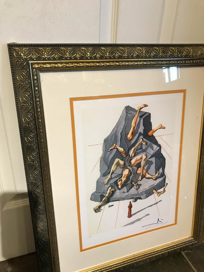 """The Simonists"" Limited Edition Print by Salvador Dali - 6"