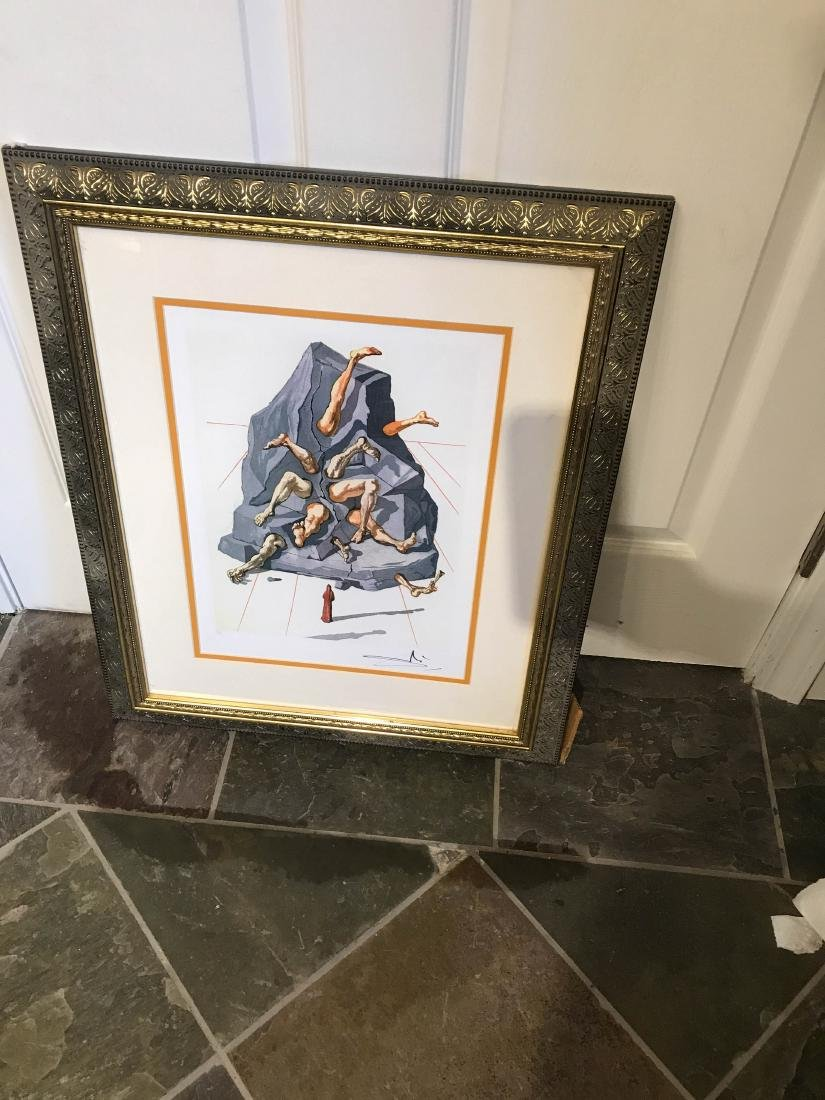"""The Simonists"" Limited Edition Print by Salvador Dali - 8"