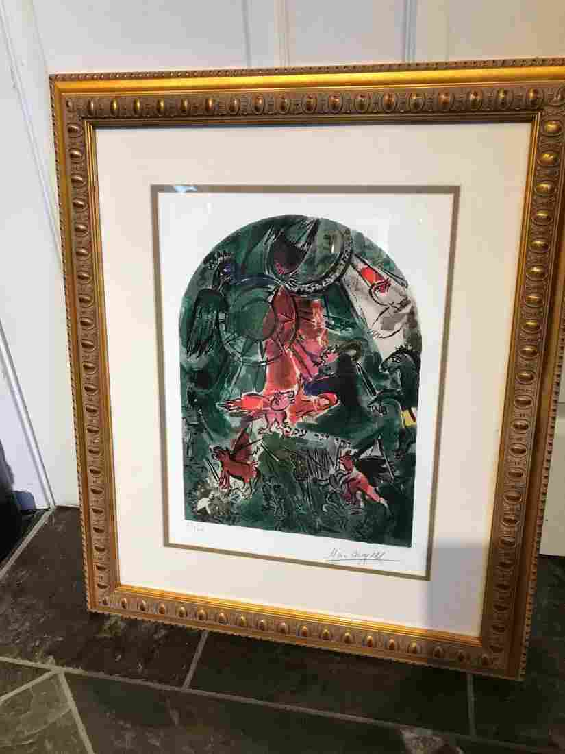 """""""Stained Glass Windows"""" Print by Marc Chagall"""