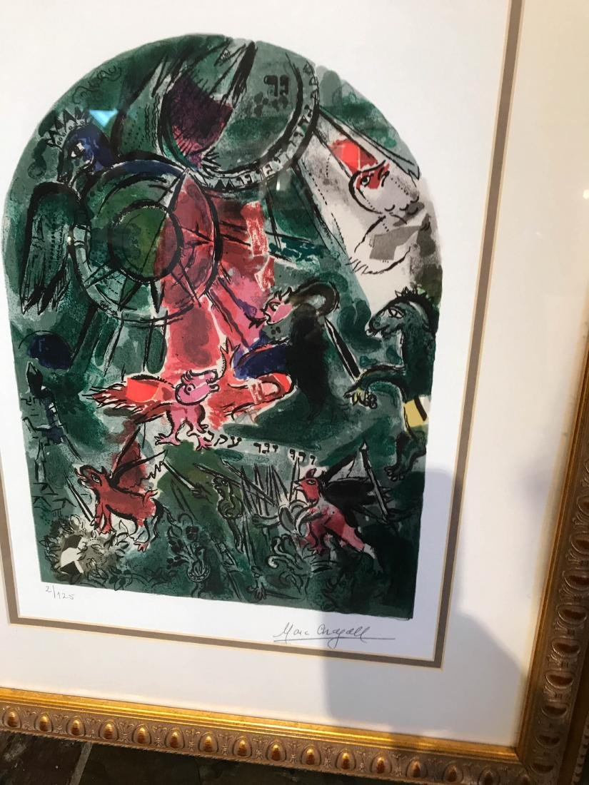 """""""Stained Glass Windows"""" Print by Marc Chagall - 2"""