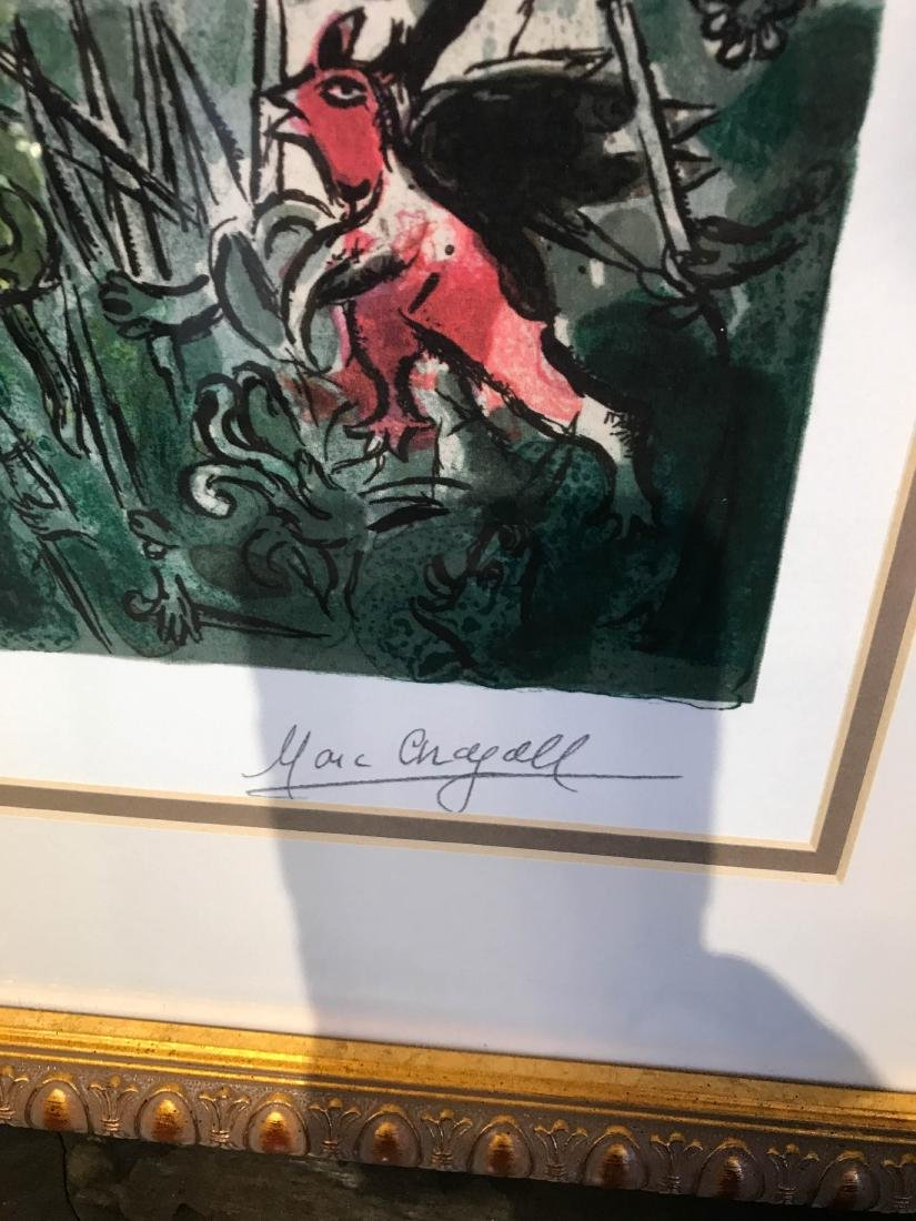 """""""Stained Glass Windows"""" Print by Marc Chagall - 4"""