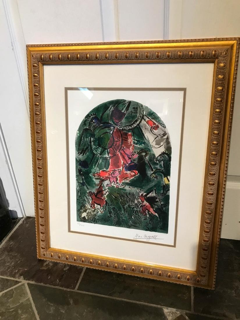 """""""Stained Glass Windows"""" Print by Marc Chagall - 6"""