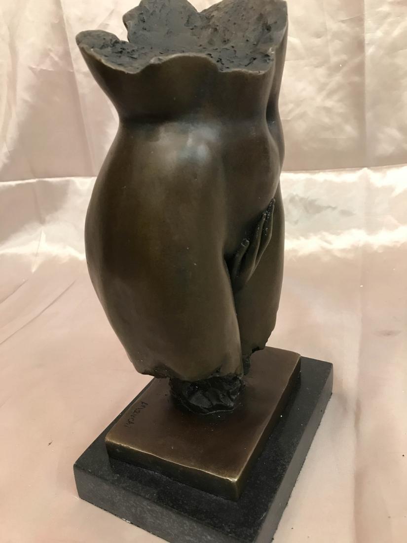 Abstract Erotic Bronze Statue by J. Navichi - 8