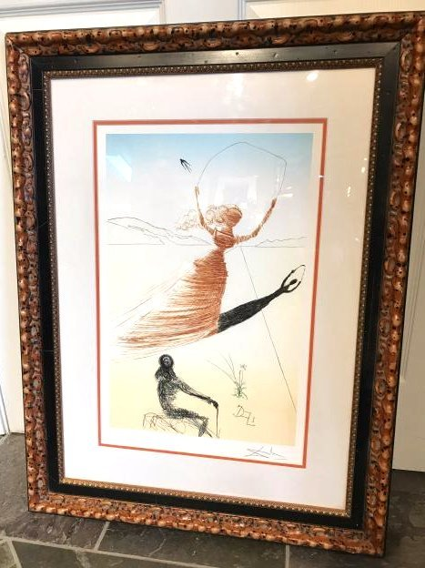 """Alice in the Wonderland II"" Print by Salvador Dali"