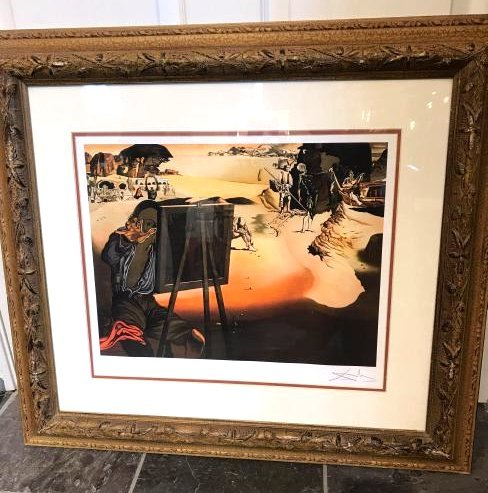 """Impression of Africa"" Print by Salvador Dali"