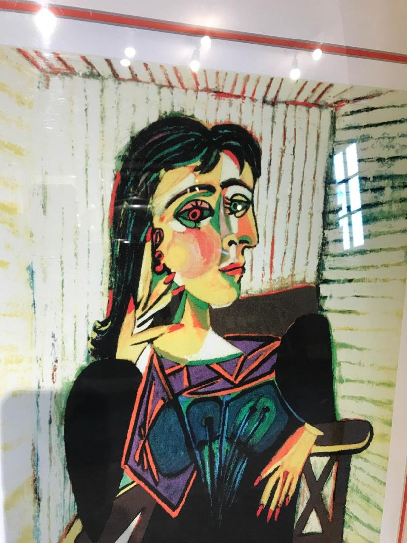 """""""Portrait of Dora Naar Seated"""" Print by Picasso - 2"""